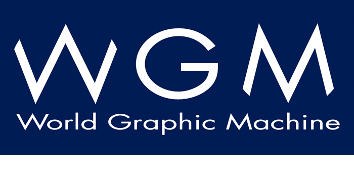 World Graphic Machine Logo
